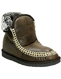 Mil-TEC BW con forro negro laminado zapatos de monta?a, 44