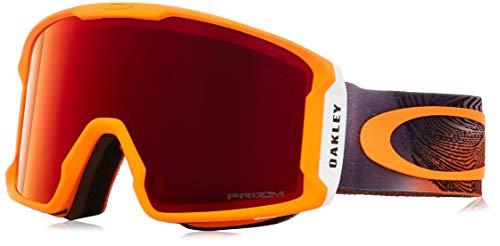 Oakley Herren Schneebrille Line Miner Mystic Flow Neon Orange Goggle