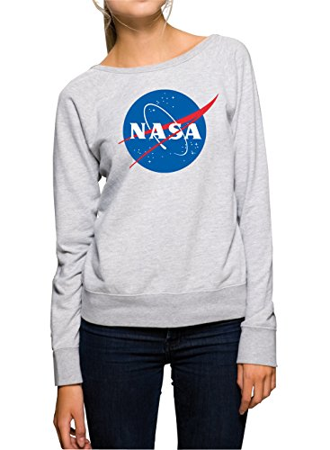 NASA Sweater Girls Grey Certified Freak-M