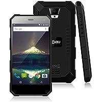 Nomu S10 - 4G Outdoor Smartphone ohne Vertrag (5.0 Zoll, Android 6.0, 1.5GHz MTK6737 Quad-Core, 2GB RAM 16GB ROM, Wasserdicht IP68, 4G cat4, 5G WiFi) (schwarz)