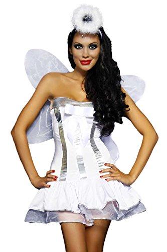 Atixo Engels-Kostüm Karneval