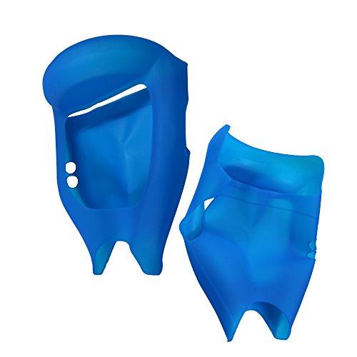6.5″Cover/Schutzhülle Silikon Hoverboard Segway 2 Räder, Cool&Fun Shell Anti-Kratz-Wasserdicht Volle Deckung (Blau) - 2