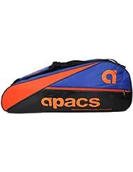 Doble Compartimento Apacs raqueta de bádminton bolsa AP607