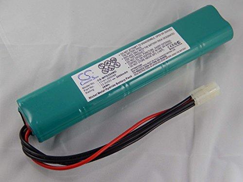 vhbw-nimh-akku-3000mah-12v-fur-medizin-technik-defibrillator-medtronic-lifepak-20-physio-control-lif