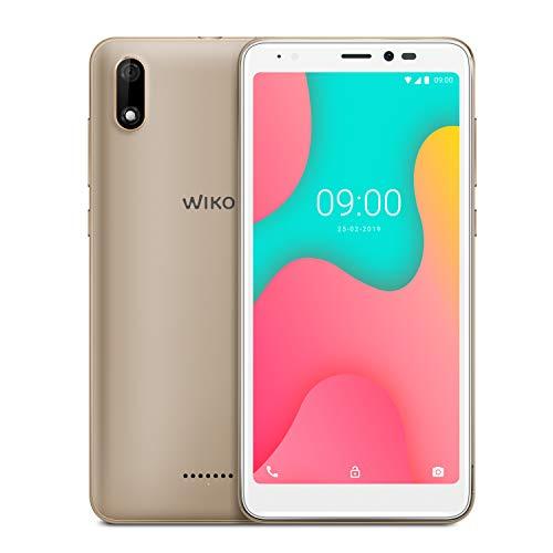 Wiko Y60 Italia Smartphone, Display 5.45 inch, Memoria ROM 16 GB, Memoria RAM 1 GB, Gold