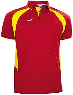Joma - Polo champion iii rojo-amarillo m/c para hombre