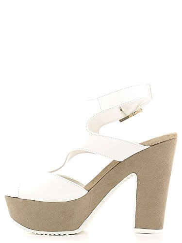 GRACE SHOES P319TC Sandalo tacco Donna Bianco