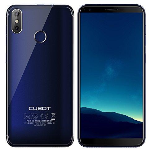 CUBOT R11 - Smartphone Dual SIM de 5.5' (Quad Core 1.3 GHz, 2 GB de RAM, 16 GB...