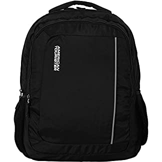4275f2cfe070 You re viewing  American Tourister AMT Techno Black Laptop Backpack  (510(0)09001) ₹2