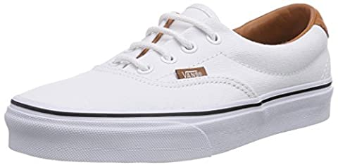 Vans Era 59, Chaussons Sneaker Adulte Mixte - Blanc (Washed