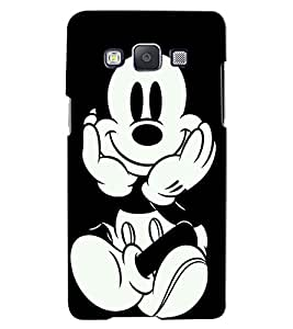 Citydreamz Mickey Mouse/Cartoon/Disney/Funny Hard Polycarbonate Designer Back Case Cover For Samsung Galaxy A8