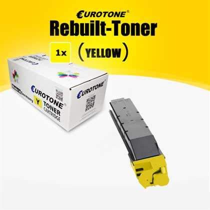 1x Müller Printware XXL Yellow Toner pour Kyocera TASKalfa/Copystar 5052ci  5053ci 6052ci 6053ci remplacé TK-8515Y avec Environ 20 000 côtés
