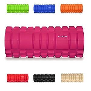 Foam roller KG | PHYSIO Trigger Point Massage Roller For Muscle Massage Grid Roller Design! - 13