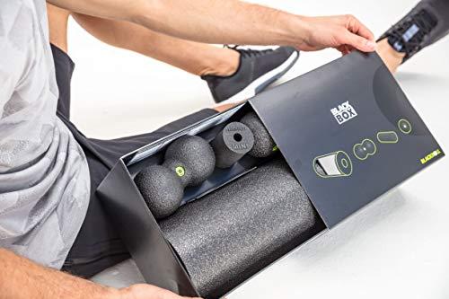 BLACKROLL BLACKBOX Faszientool-Set – das Original. Selbstmassage-Produkte für die Faszien in schwarz + DVD & Übungskarte - 2