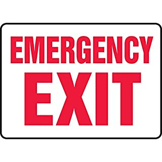 Emergency Exit Sign - 10