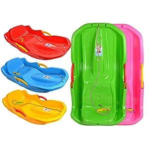 MARMAT Schlitten Kinderschlitten BOB MINIBOB Kunststoff Rodel UFO 5 Farben