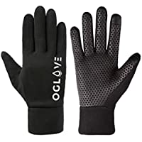 OGLOVE Waterproof Thermal Sports Gloves for Kids, Touchscreen Sensitive Field Gloves with Palm Grip for Football, Rugby, Mountain Biking, Cycling, Running, Netball, Hockey and More