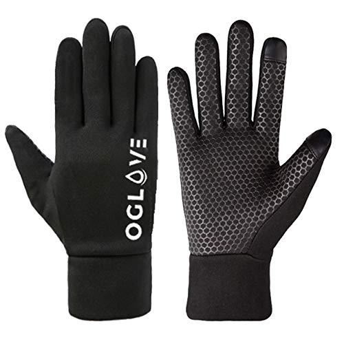 OGLOVE wasserdichte Thermo-Sporthandschuhe, Touchscreen Kompatible Handschuhe für Fußball, Rugby, Mountainbiking, Radfahren, Angeln und mehr, Erwachsenes Mittelgroß
