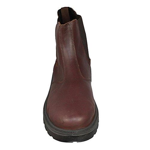Tuskers businesschuhe mehrzweckschuhe s3 sRC chaussures marron Marron - Marron