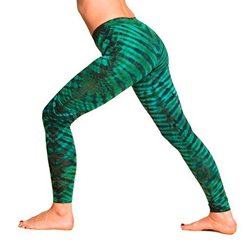 Panasiam® qualitäts Leggings & Tops, aus Naturmaterial, passt M bis L, skinny & stretchy, super wohlfühl Legging N010 liquified