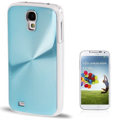 CD Texture Metal Paste Skin Crystal Case per Samsung Galaxy S IV / i9500