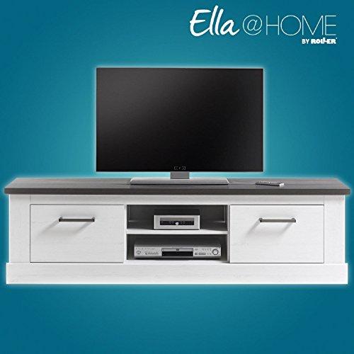 ROLLER Ella@Home TV-Lowboard - Pinie weiß-Wenge - 170 cm breit