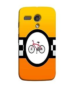 Fuson Designer Back Case Cover for Motorola Moto G :: Motorola Moto G (1st Gen) :: Motorola Moto G Dual (round stars cirlces rangoli holy)