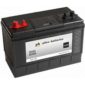 leisure battery 12v 110ah numax xv31mf car motorbike. Black Bedroom Furniture Sets. Home Design Ideas