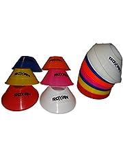Roxan Vishwa Football Saucer Cone - Set of 20