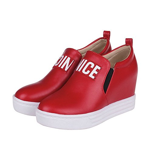 BalaMasa-Maialino, altezza, pompe-Shoes Red