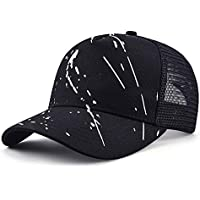 Vinteen Sombrero de Cap Hombre Malla de Verano Sombrero de Graffiti Gorra de Béisbol Ocio Femenino