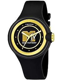 Calypso - Colección MTV negro y oro de mujer