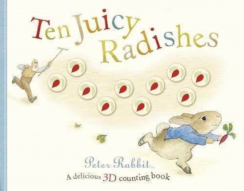 Ten juicy radishes.