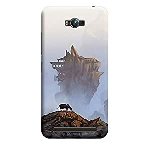 CaseLite Premium Printed Mobile Back Case Cover With Full protection For Asus Zenfone Max (Designer Case)