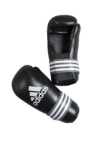 adidas Handschuhe Semi Contact Gloves, Schwarz/Grau, M, adiBFC01