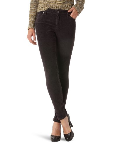 Cheap Monday - Jeans slim, donna, Marrone (Autumm Brown Cord), 42/44 IT (29W/34L)