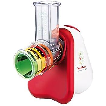Weiß elektrische Reibe Rot Moulinex Fresh Express