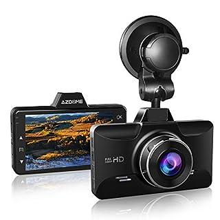 AZDOME Mini Dashcam 1080P FHD Autokamera mit 170° Weitwinkelobjektiv, Super Nachtsicht, Loop-Aufnahme, G-Sensor, Parkmonitor und Bewegungserkennung Auto Dashcam KFZ Kamera(M01)