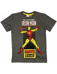 Avengers Boys T-Shirt Short Sleeved Top Hulk, Captain America, Thor