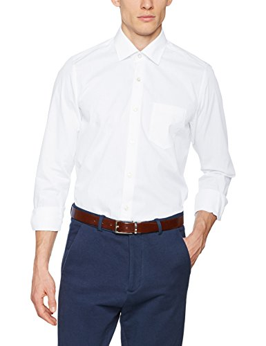 Pierre Cardin Cannes 1309, Chemise Business Homme Weiß (White 9000)
