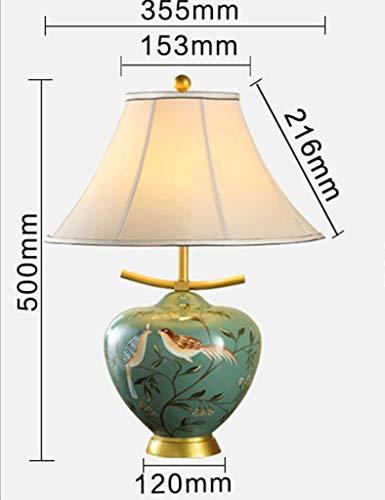 SEBAS Home Lampe de Chevet de Chambre à Coucher de café de canapé Minimaliste Moderne (Color : A-Small)