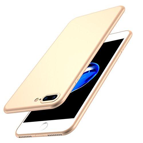 Iphone 7 Ultra-Dünn 0.5mm Matt Hülle + Gehärtetes Glas,SUNAVY 360-Grad Anti-stoß Anti-Kratzer Leichte Weich HandyMatte Hülle TPU SchutzMatte Hülle für Apple7,4.7zoll,WineRot Gold