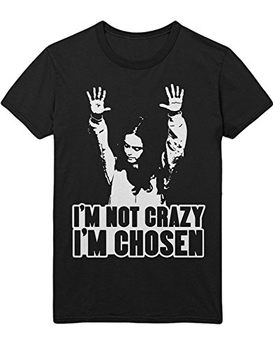 e New Black I'm NOT Crazy I'm Chosen C210050 Schwarz XXXL ()