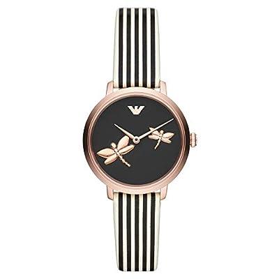 Emporio Armani Womens Analogue Quartz Watch with Leather Strap AR11232