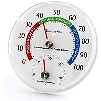 2in1 Kombithermometer Hygrometer Thermometer Raumklima Luftfeuchte Messgerät DE