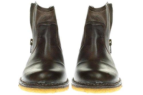 Ca Shott 14067 - Damen Schuhe Stiefel Boots BROWN-WEST Braun