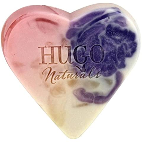 Hugo Naturals - sapone artigianale Bar cuore cremoso cocco - 4 oz. - Cuore Bar
