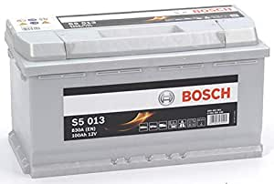 bosch s5013 batterie de voiture 100a h 830a. Black Bedroom Furniture Sets. Home Design Ideas