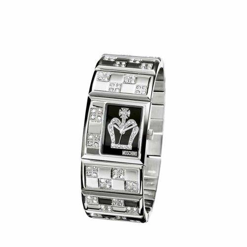 Moschino - MW0025 - Montre Femme - Quartz - Analogique - Bracelet Acier Inoxydable Argent