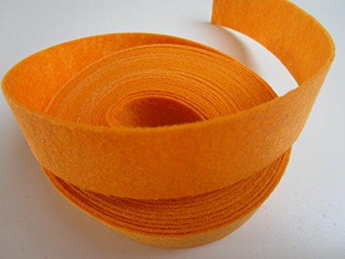 5m Filzband 2,5 cm breit 25mm : Apricot